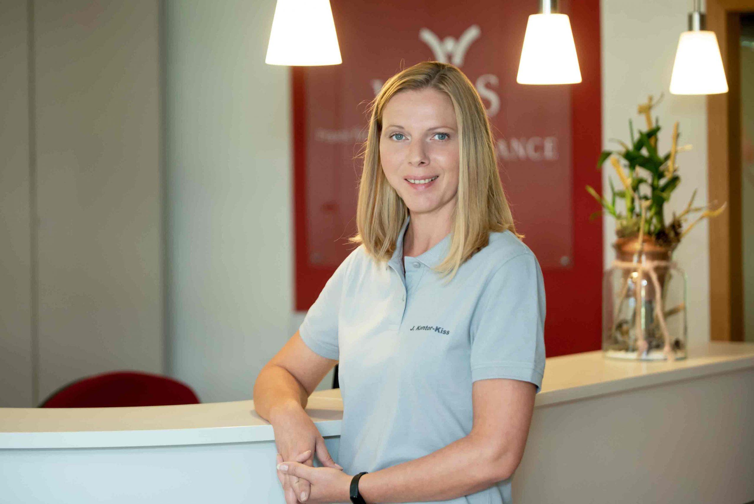 Jana Kantor-Kiss - Praxis Organisation Physiotherapie Wels